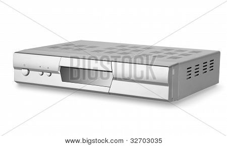 DVD player with tuner isolated