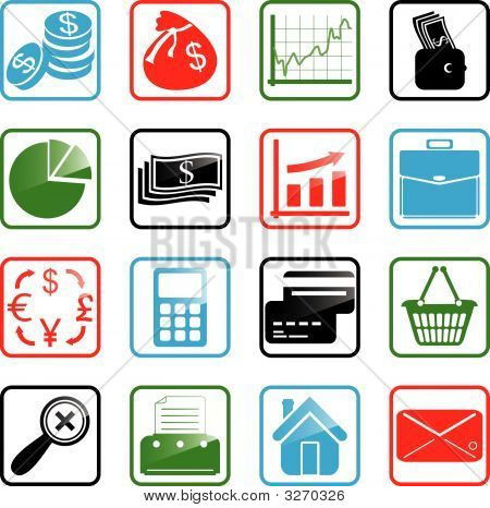 Icon Set Finance