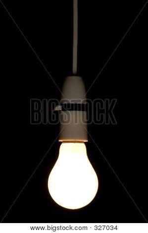 Hanging Light Bulb