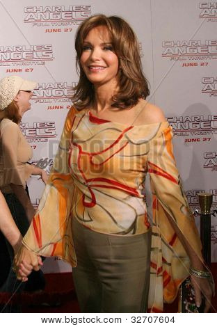 LOS ANGELES - JUN 18: Jaclyn Smith at the premiere of 'Charlie's Angels: Full Throttle' on June 18, 2003 in Los Angeles, California
