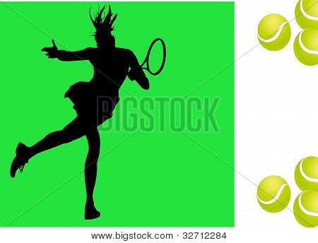 Tennis player wallpaper