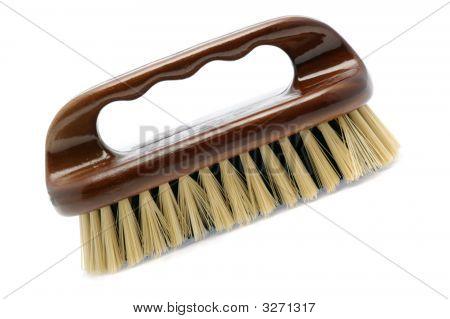 Escova para limpeza de Isollated branco