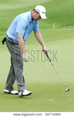Alastair Forsyth of Scotland during Maybank Malaysian Open 2012