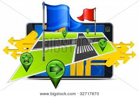 Gps Navigation & Arrow