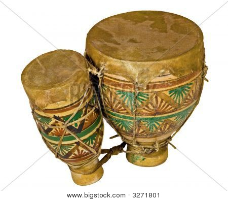 Isolated Traditional African Bongo