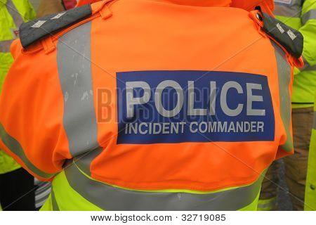 Police incident commander