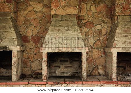 Old Brick Ovens