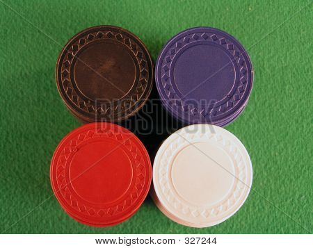 Poker Chips Top