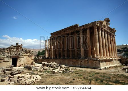 Balbek tempel in Lebanon