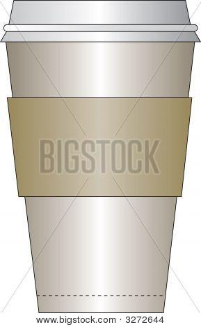 Taza de café Java