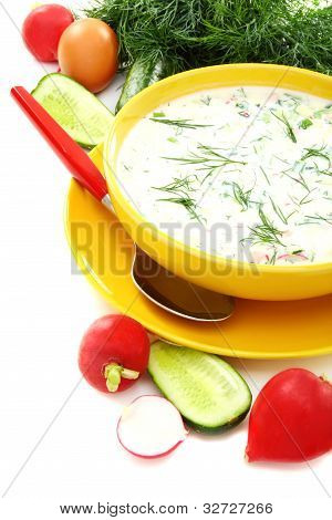 Cold Summer Soup Kefir