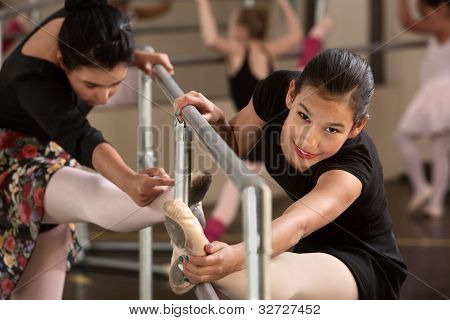 Cute Teen Ballerinas
