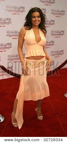 LOS ANGELES - JUN 18: Carmen Electra at the premiere of 'Charlie's Angels: Full Throttle' on June 18, 2003 in Los Angeles, California