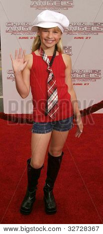 LOS ANGELES - JUN 18: Jenna Boyd at the premiere of 'Charlie's Angels: Full Throttle' on June 18, 2003 in Los Angeles, California