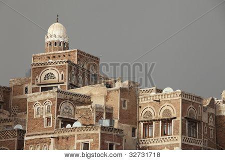Old Sanaa building - traditional Yemeni house