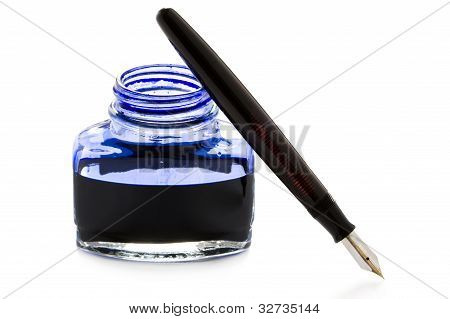 Fountain Pen And Ink