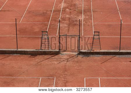 Tennis Courts - View From Above