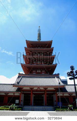 Santuario budista. Asakusa, Tokio.