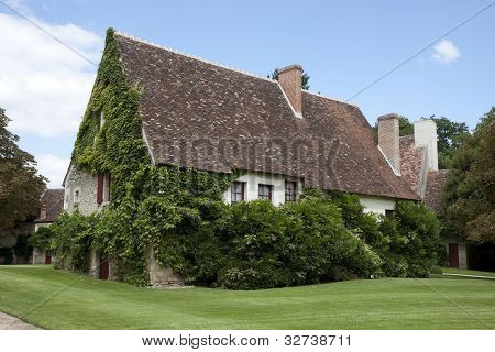 Typical  French House