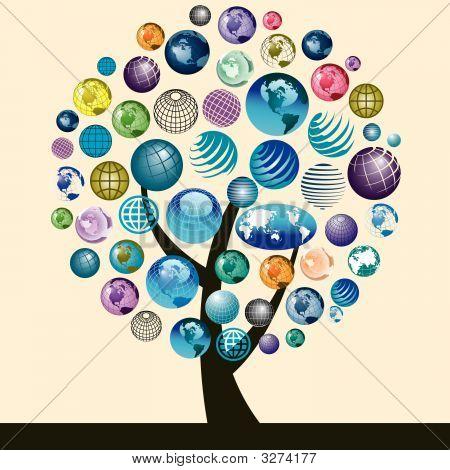 Globes Tree