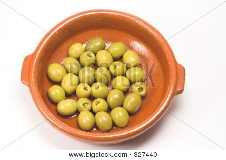 Anchovy Stuffed Olives