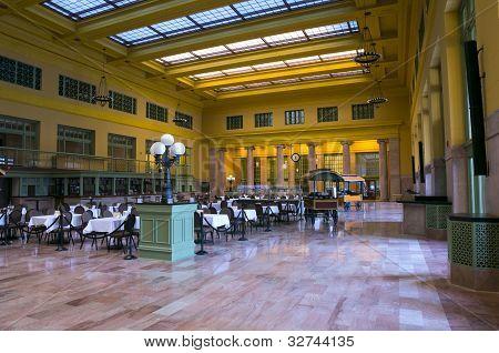 Rail Station Concourse