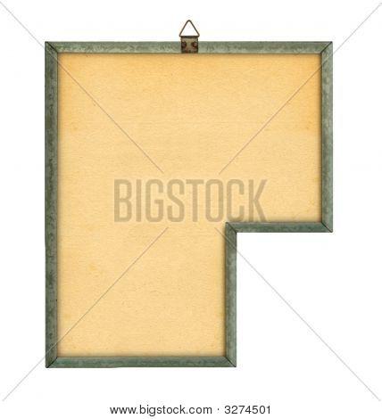 Strange Empty Noticeboard