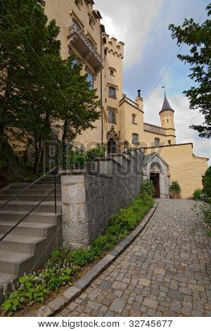 Famous Hohenschwangau Castle, Bavaria, Germany