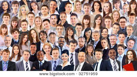 big group people