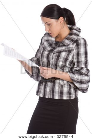 Serious Women Read Document