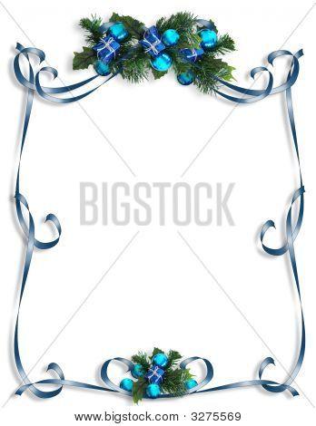 Christmas, Hanukkah Background, Border Or Frame