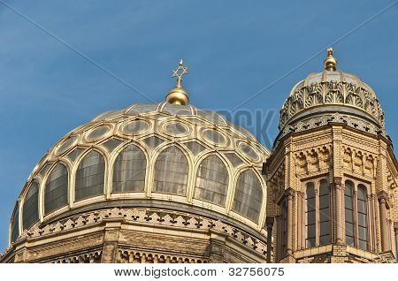 The Neue Synagoge At Berlin, Germany