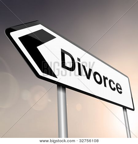 Divorce Concept.