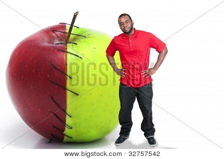 Man With An Apple