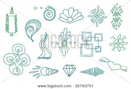 Abstract Symbols Vector Set