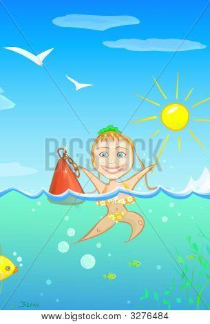 Summer Happy Girl