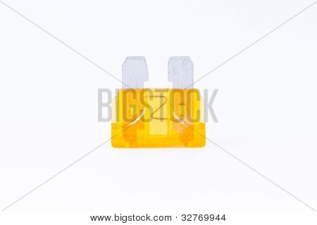 An Orange Car Fuse