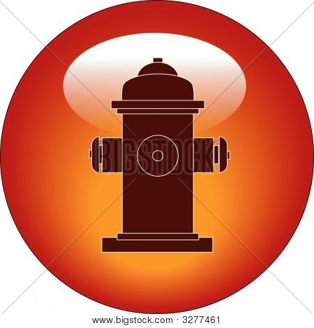 Schaltfläche Feuerhydrant