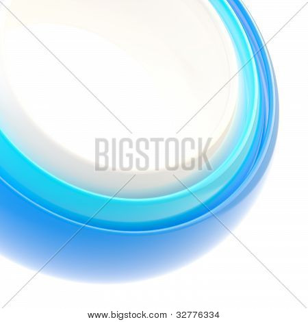 Abstract background made of rings