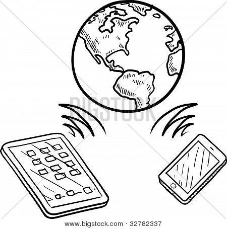 Global communication sketch