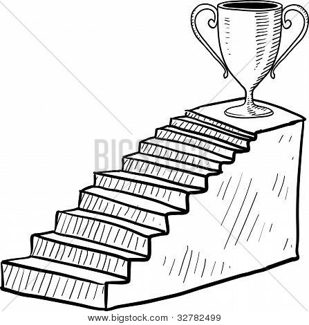 Award ceremony illustration