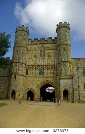 Gatehouse Of Battle Abbey