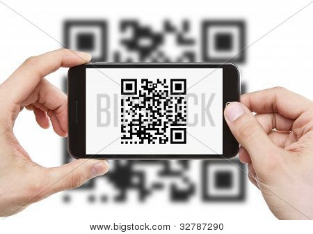 Escanear el código Qr con Smart Phone