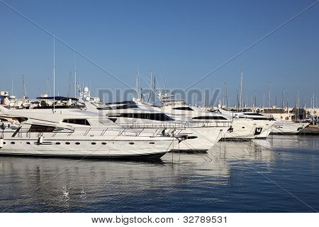 Marina Of Alicante, Spain
