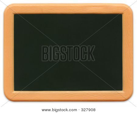 Child's Mini Chalkboard (path Included)