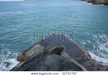 Vernazza Harbor