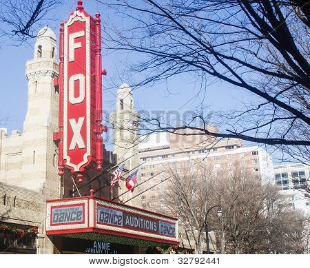 Dance Auditions At Fox Theater