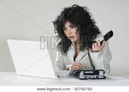 Unhappy Business Woman