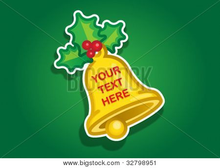 Christmas Tree Vector Sticker / Seal