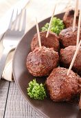 image of meatball  - appetizer - JPG